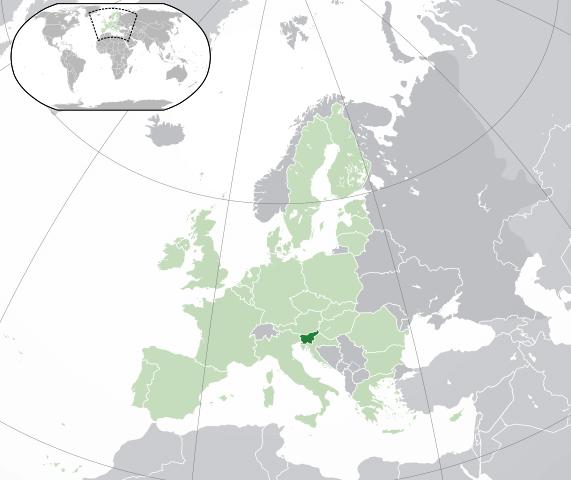 Mapa země
